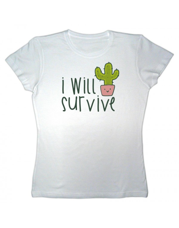 Camiseta mujer I will survive